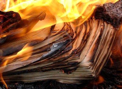 burning-manuscript